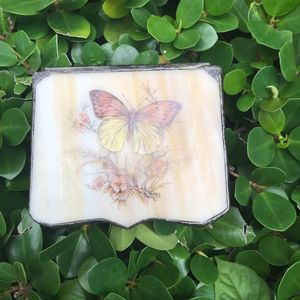 VTG Butterfly mini jewelry box